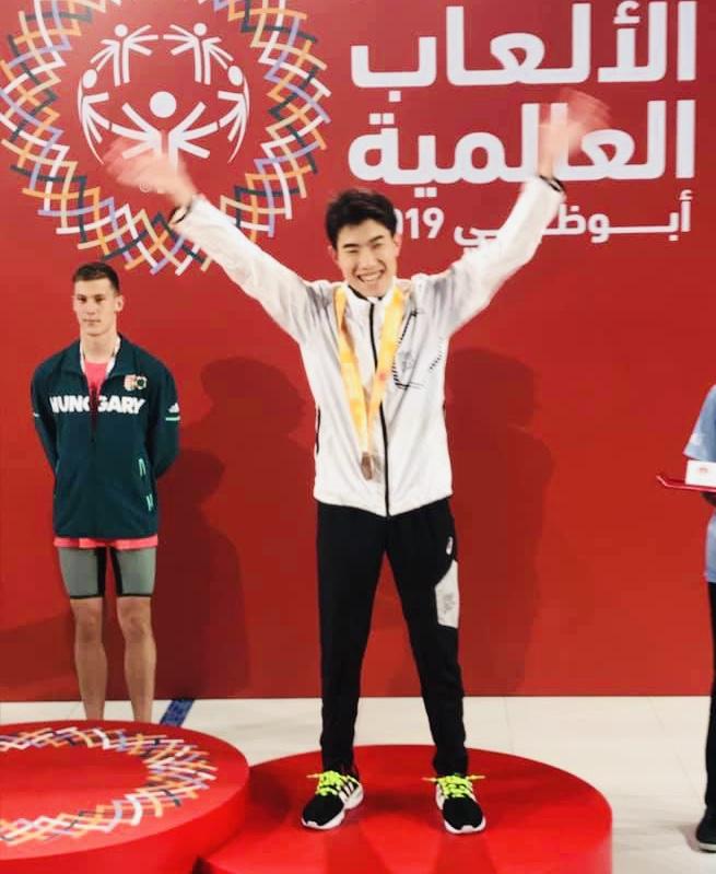 池上選手、水泳世界大会メダル獲得おめでとうございます!