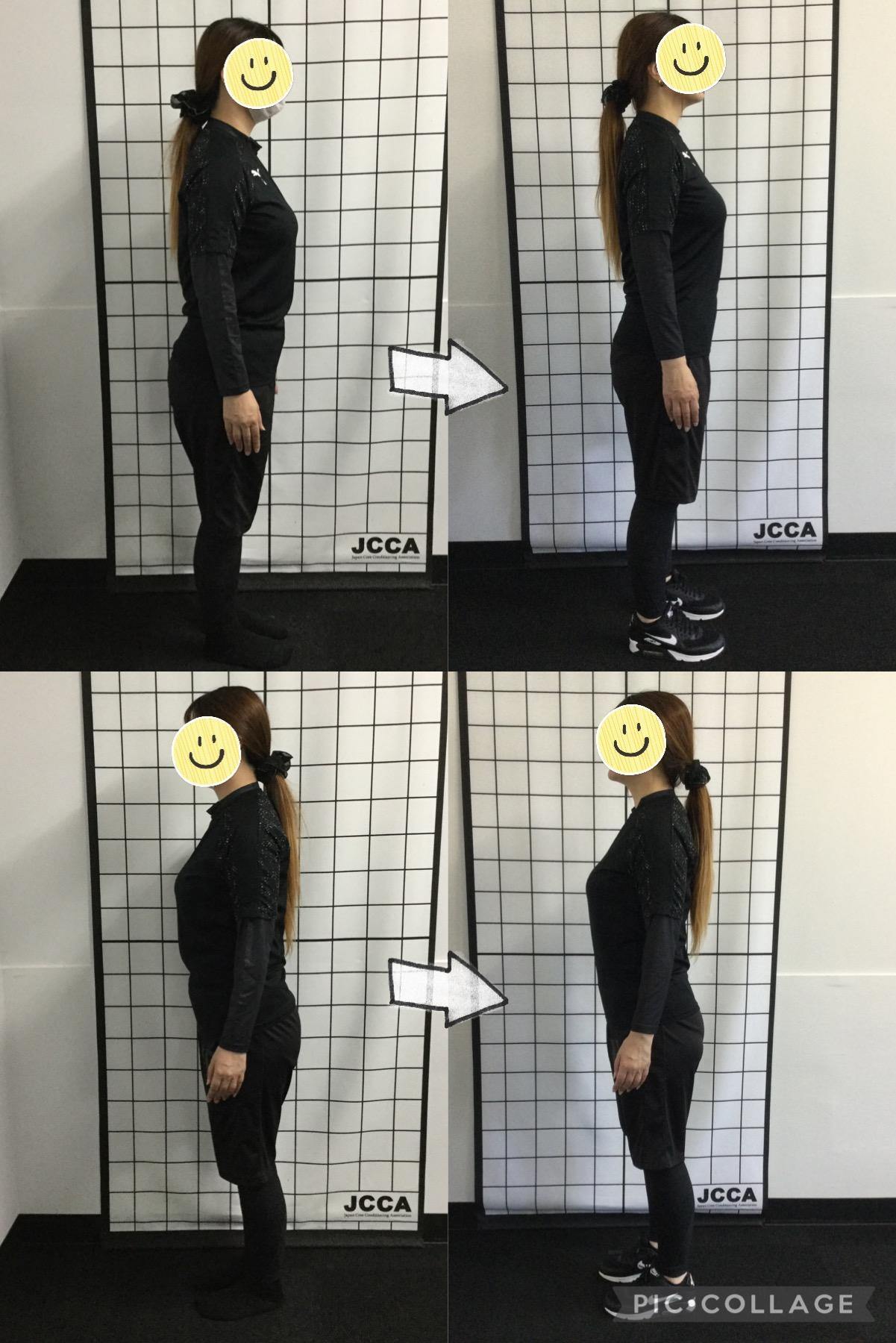 40代女性N様「首やウェストの違いと、姿勢の違いが分かります」